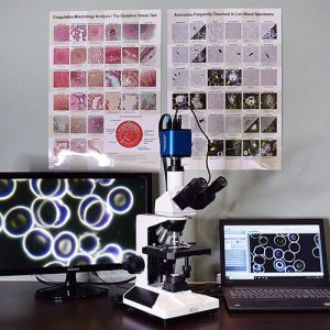 HDMI-LED microscope package